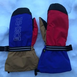 Burton Mittens with liners - large